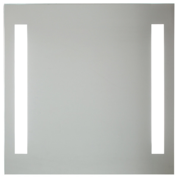 backlight mirror with 2 vertical lights - modern - bathroom
