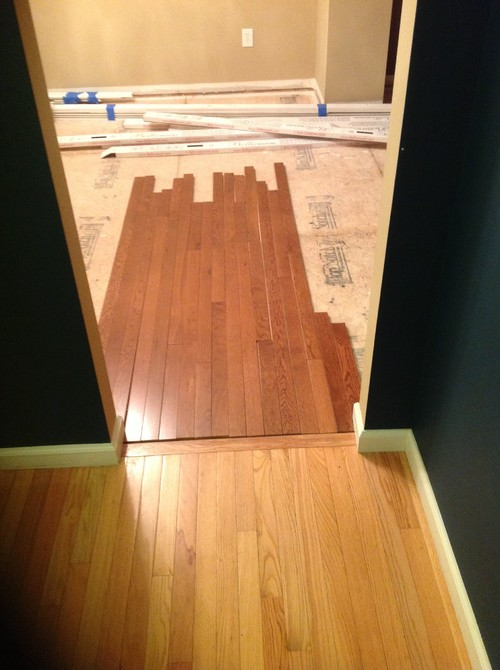 Can 39 t match wood floor colors what to do for Different colors of hardwood floors
