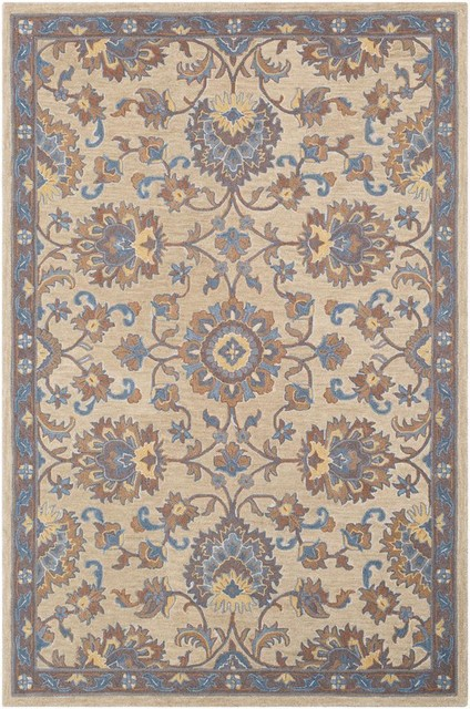 Surya Fire Work FIR-1009 Area Rug, Multi, 2' x 3' Rectangle