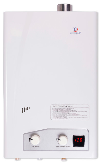 Eccotemp Fvi12-Lp Liquid Propane Indoor Forced Vent Tankless Water Heater.