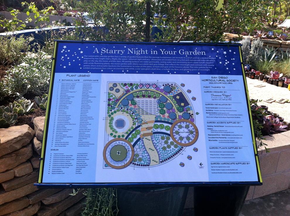 SD County Fair - Award Winning San Diego Horticultural Society Display Garden