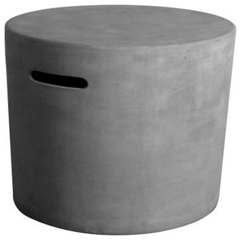 Elementi ONB01-107 Round Tank Cover in Grey - 20.07''