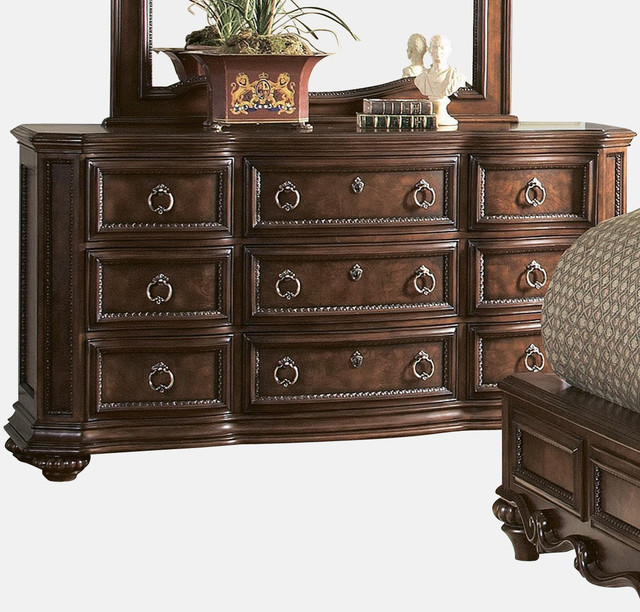 Homelegance Prenzo 69 Inch Dresser In Brown.