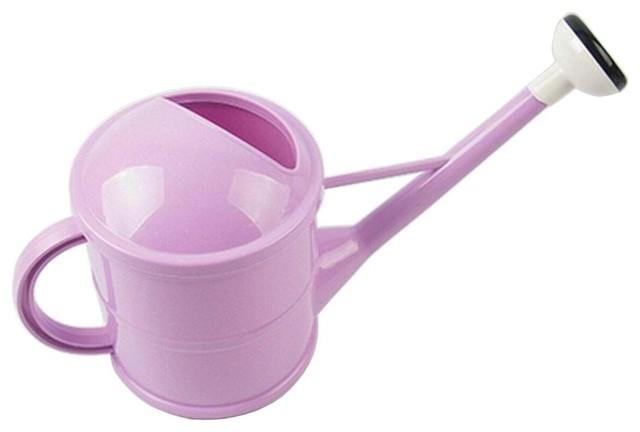 Purple Long Spout Watering Pot Can Useful Garden Tool