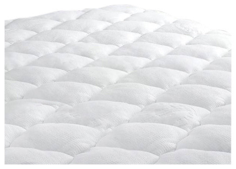 bamboo removable pillow top mattress pad twin and