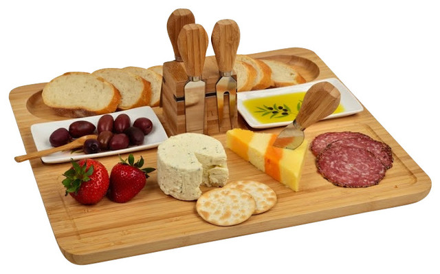 Sherborne Cheese Board Set Modern Boards And