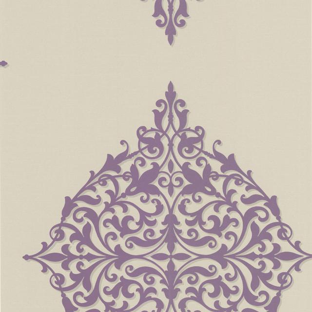 Decadence Classical Motif Wallpaper