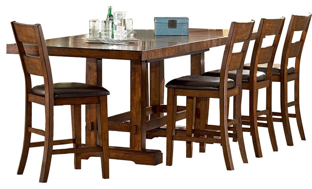 Steve Silver Company Zappa 5 Pc Counter Height Dining Set  : contemporary dining sets from www.houzz.com size 640 x 388 jpeg 75kB