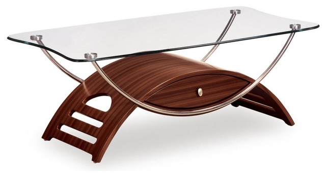 Global Furniture Coffee Table, Mahogany.