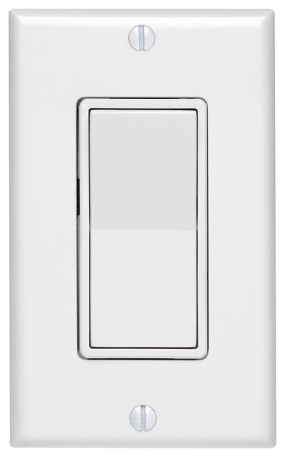 Leviton White 3-Way Decora Quiet Rocker Switch
