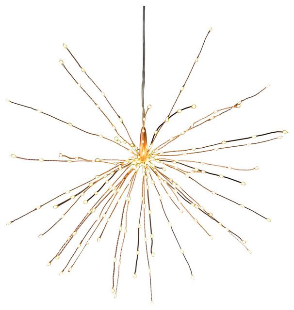 Star Light LED Light, Large, Mains, Copper