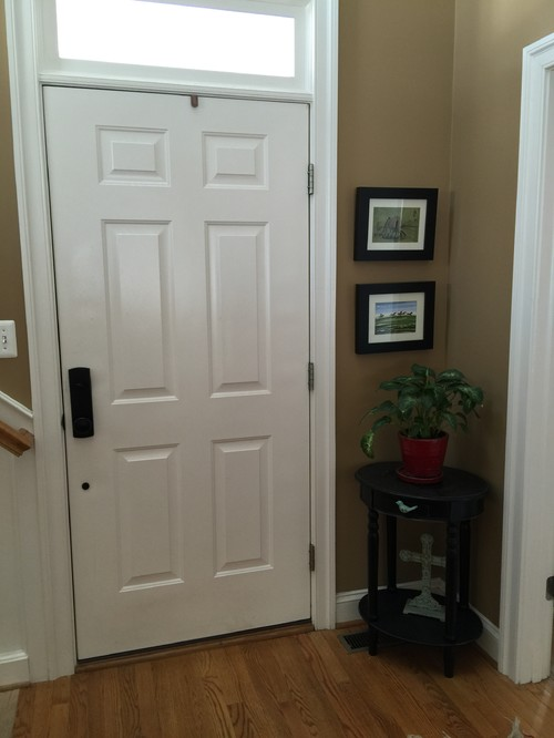 Small Room Off Foyer : Need help for small foyer corner