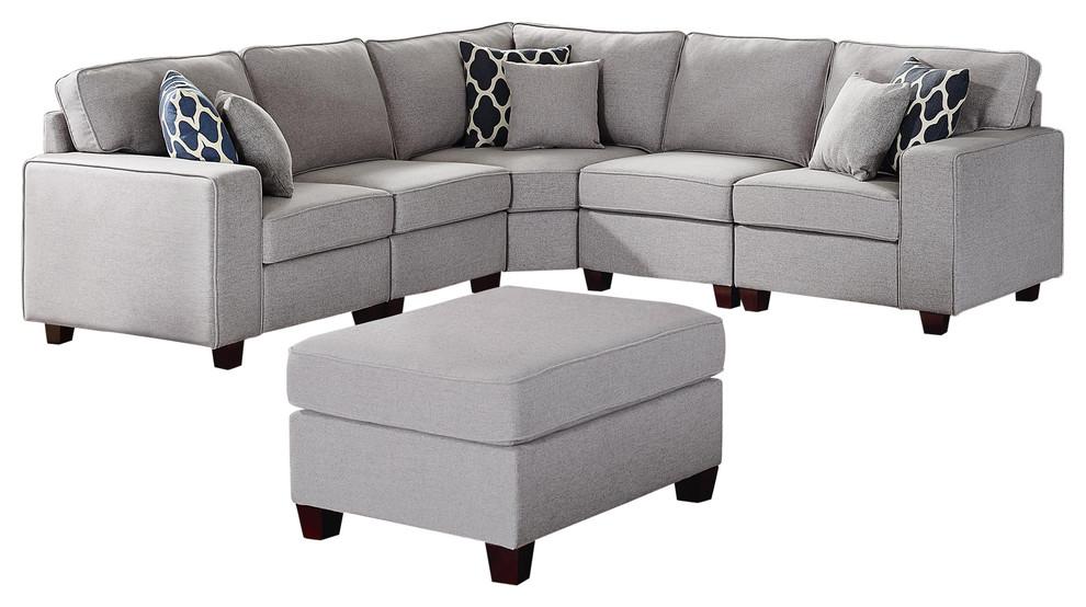Sonoma 6pc Modular Sectional Sofa