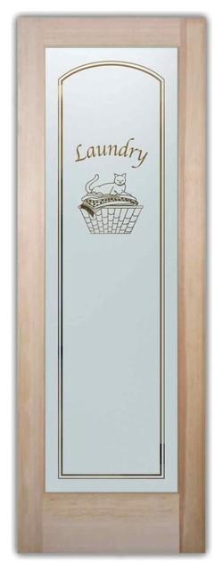 Cat Nap Laundry Room Door.