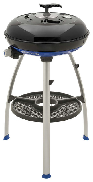 Carri Chef 2 Portable Grill With Pot Ring, Grill Plate, And Chef Pan.