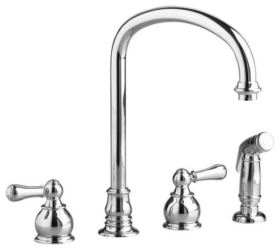 American Standard 4751.732 Hampton Kitchen Faucet, Chrome.