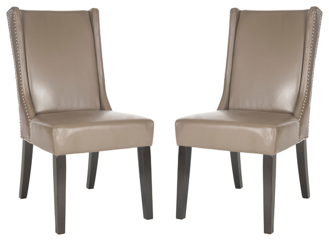 Safavieh Sher Side Chairs, Set Of 2, Clay