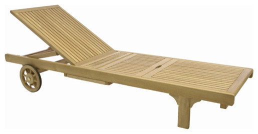 Somerset Chaise Lounger, No Cushion.