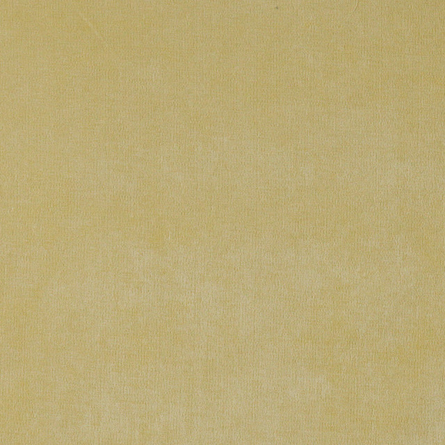 Yellow Solid Woven Velvet Upholstery Fabric By The Yard