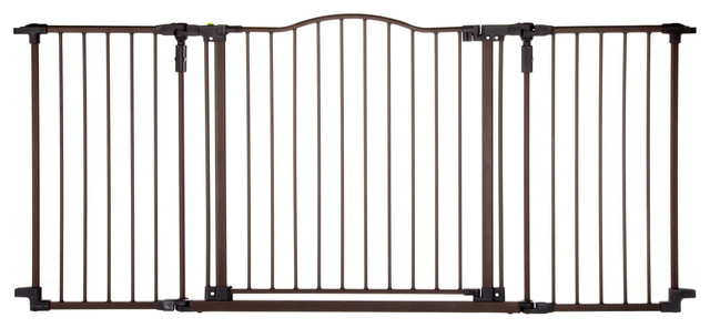 Deluxe Decor Metal Gate Transitional Baby Gates And
