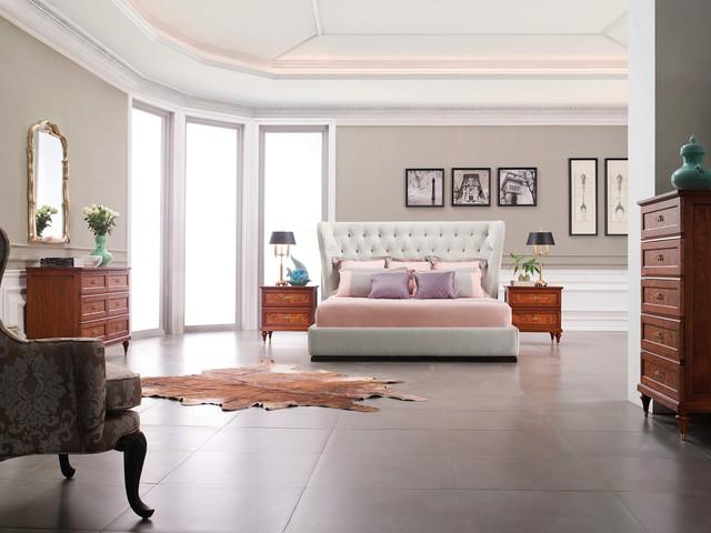 luxury bed - baroque bed - luxury bedroom set sophy