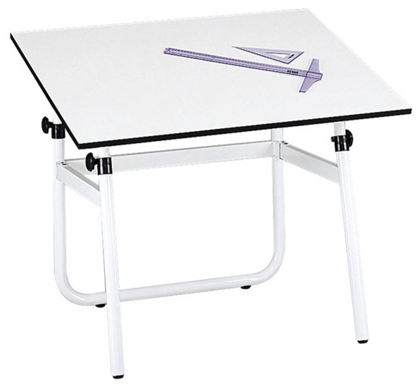 Safco Horizon Drawing Table Base Traditional Desks And