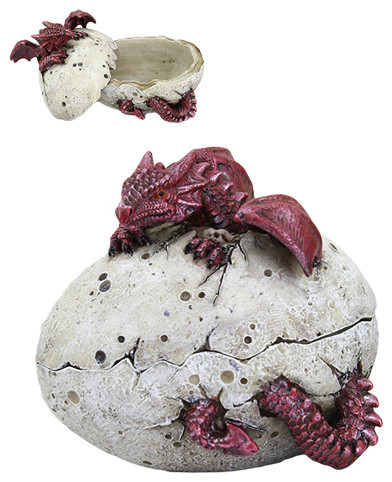 Dragon Egg Box, Red.