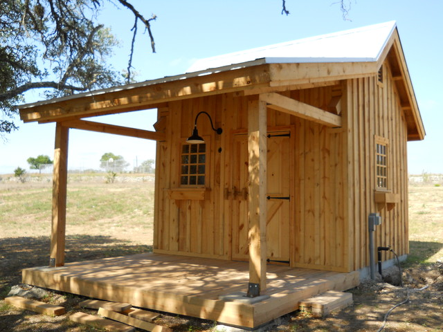 Well House For Equine Development Rustic Austin By
