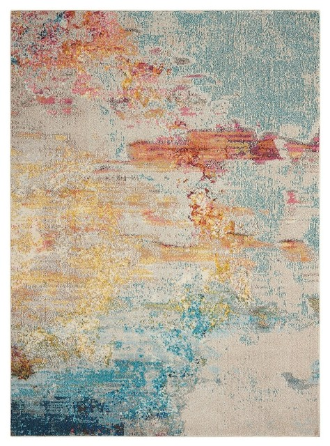Palm Springs Area Rug Sealf 3 11 X5 Contemporary