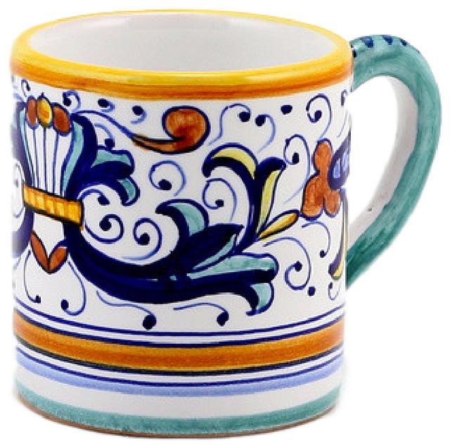 Shop Houzz Artistica Goblet Mugs Ricco Deruta Espresso Coffee Mug Mugs