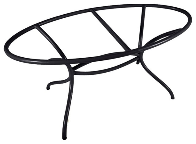 Italia Oval Dining Table Base Only