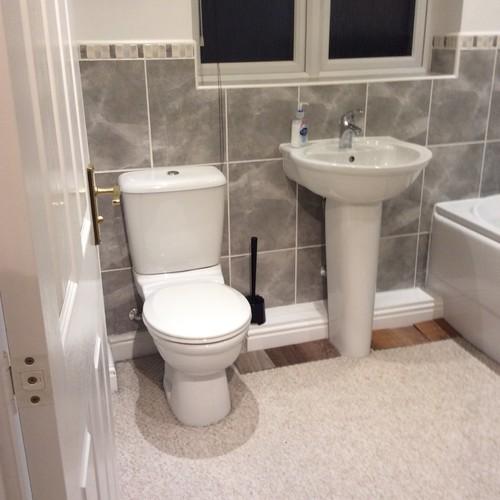 Please help with replacing bathroom carpet