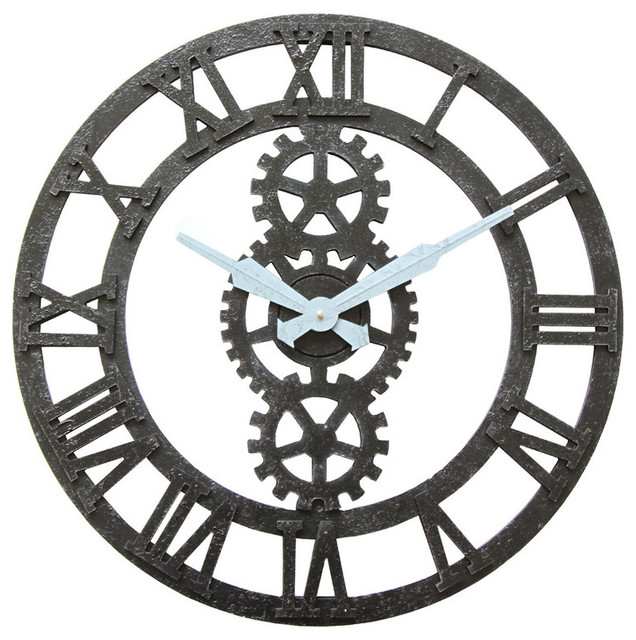 Infinity Instruments Balanced Gear Wall Clock Wall Clocks By Infinity Instruments Ltd