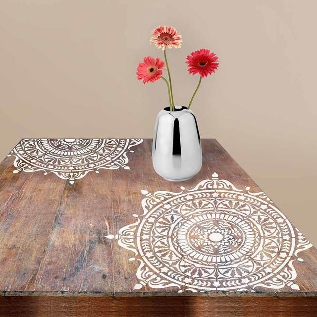 Mandala Stencils for DIY Home Improvement Mandala Stencil Flower of Life