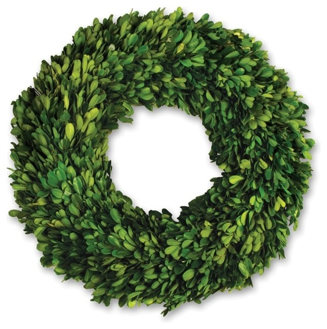 "Boxwood 16"" Wreath"