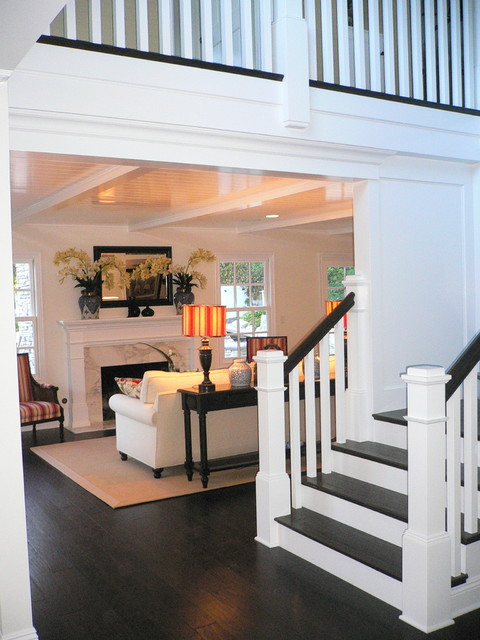 Kitchen Bath Remodelers Entry Stair Case Traditional Staircase