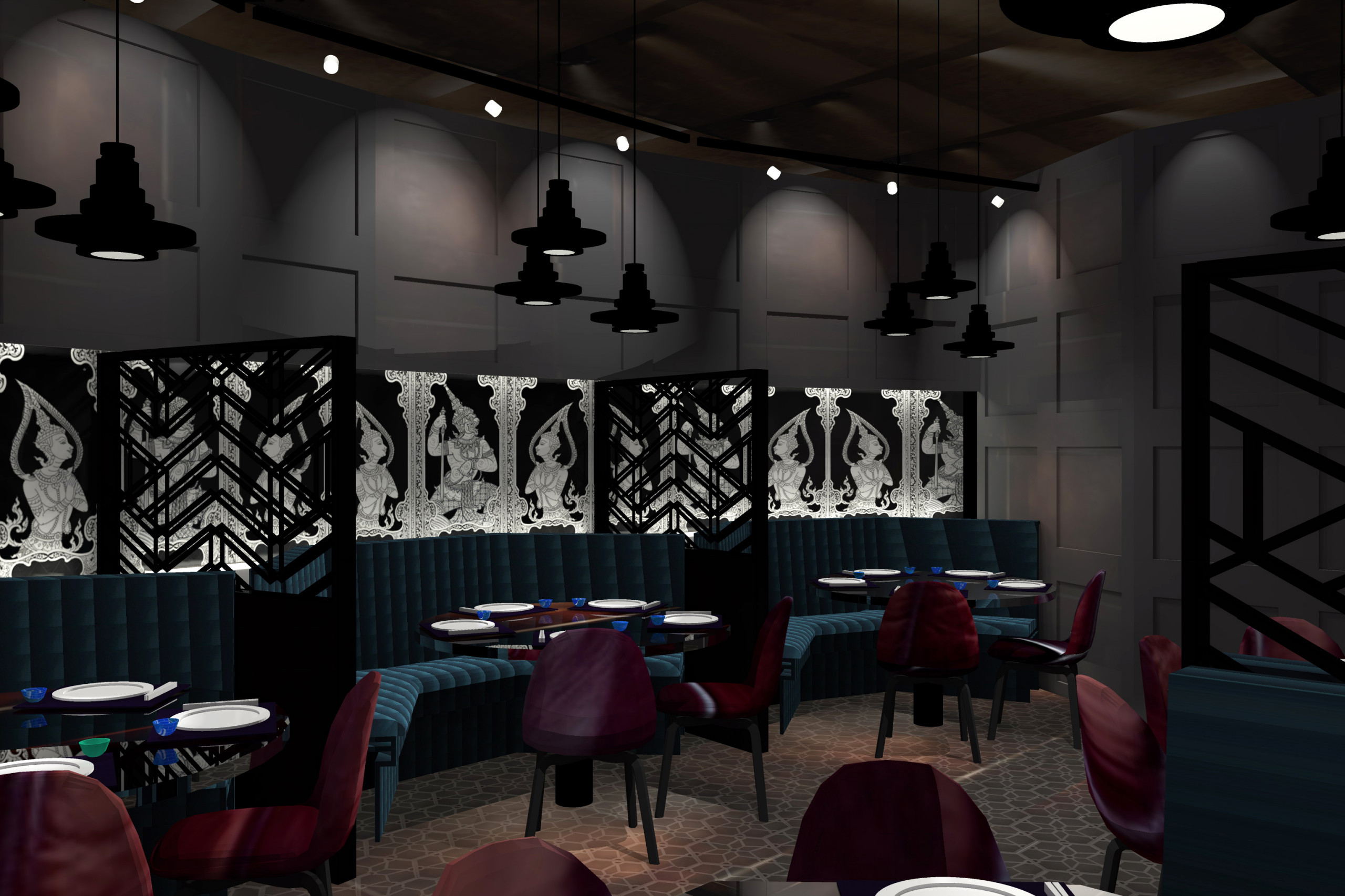Restaurant Photos and Illustrations