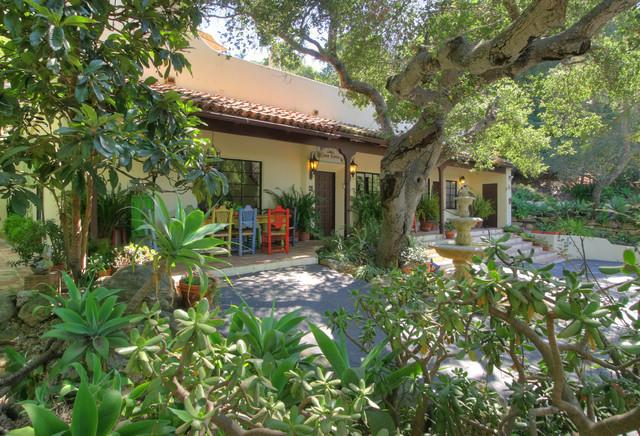 Sold spanish hacienda mediterranean santa barbara for Spanish mediterranean homes for sale