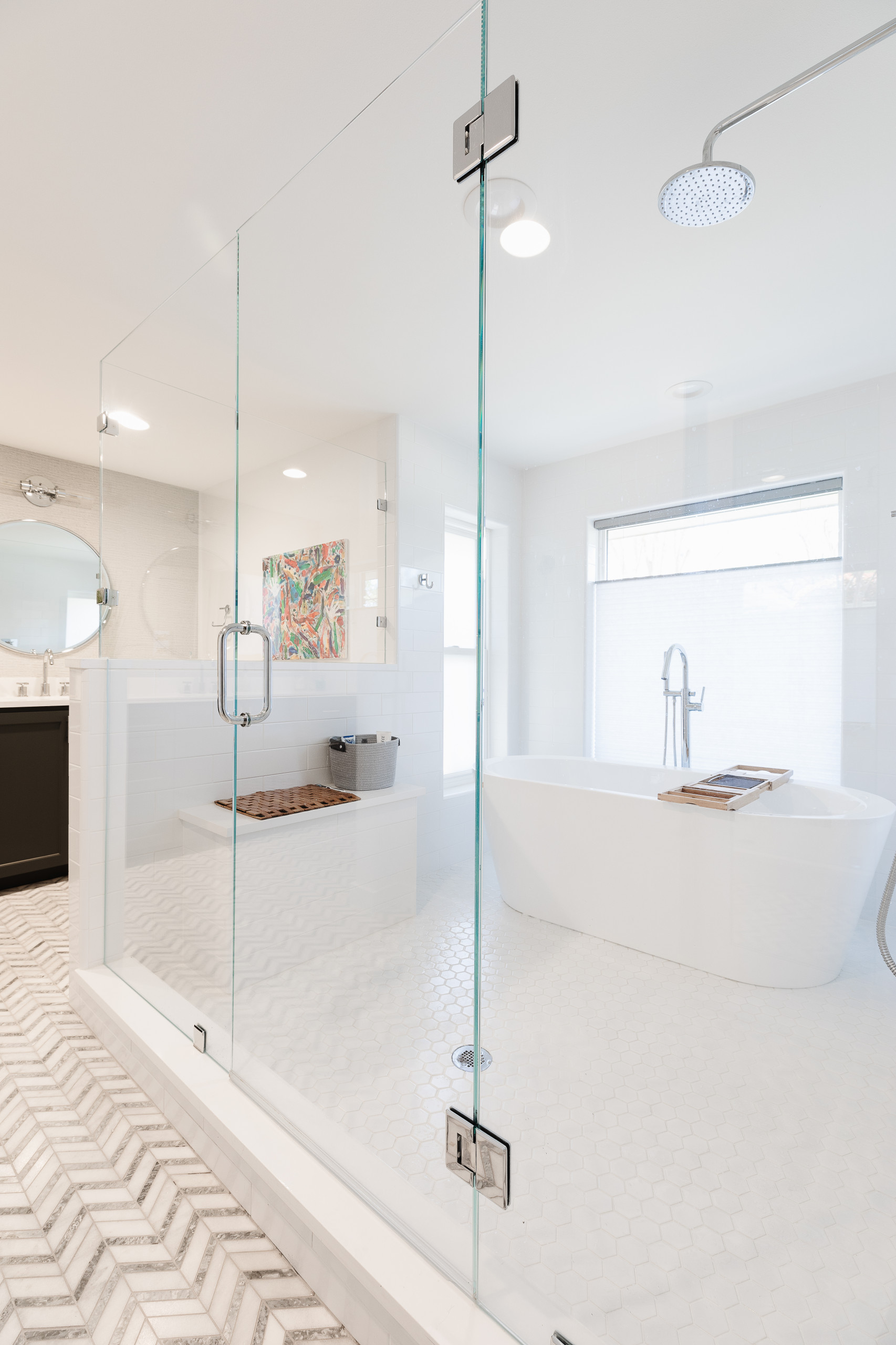 Lake Highlands Master Bath - Raeford