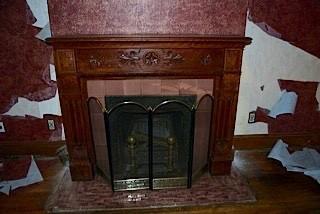 Fireplace Restoration 895 Queen Anne In Fairfield Iowa: victorian fireplace restoration