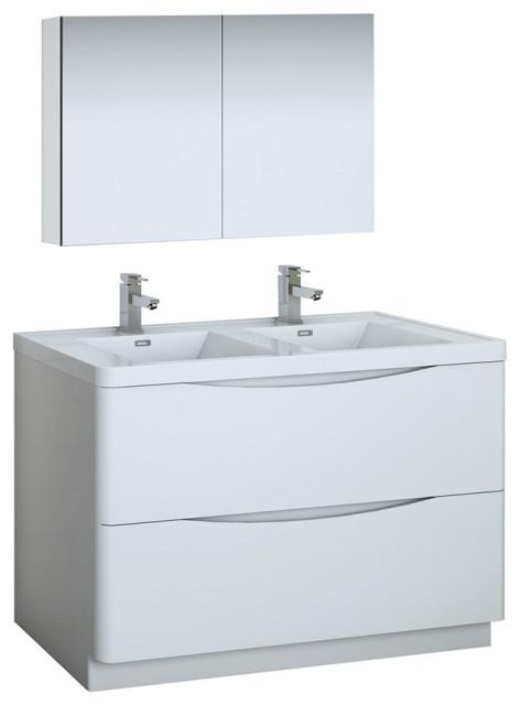 Fresca Tuscany 48 Double Sink Vanity, Tuscan Bathroom Vanity