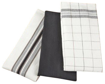 Le Creuset Kitchen Towel Set Of 3 Traditional Dish Towels