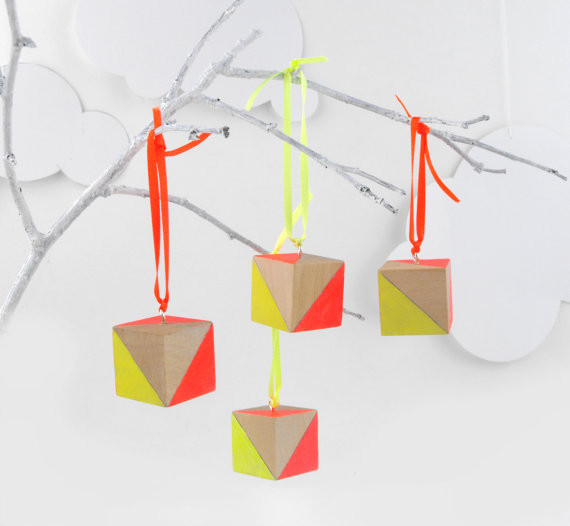 Neon Hanging Ornaments By SketchInc