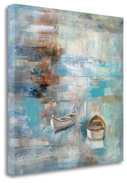 Seascape Sketches I Silvia Vassileva Abstract Coastal Sea Print Poster 24x24