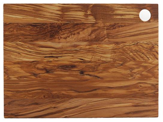 Italian Olive Wood Board Modern Cutting Boards By