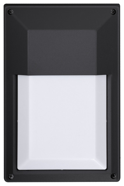 Dimmable Outdoor LED Wall Light, Square - Contemporary - Outdoor Wall Lights And Sconces - by ...