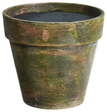Silk Plants Direct Paper Mache Pot Set Of 4 Rustic Indoor Pots