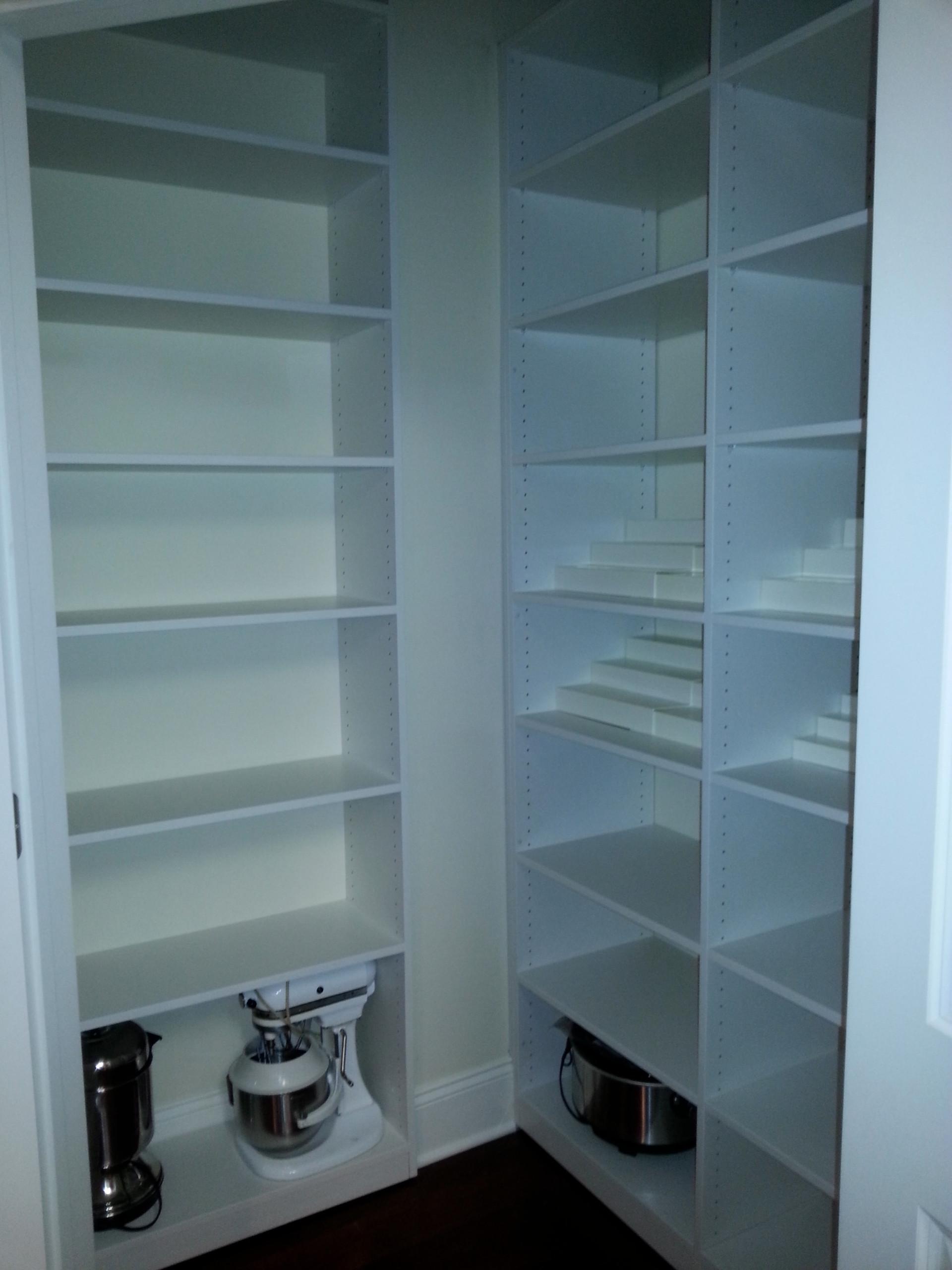 Pantries/Broom Closets