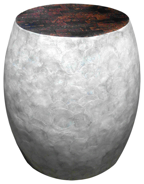 shop houzz d art collection inc capiz shell round