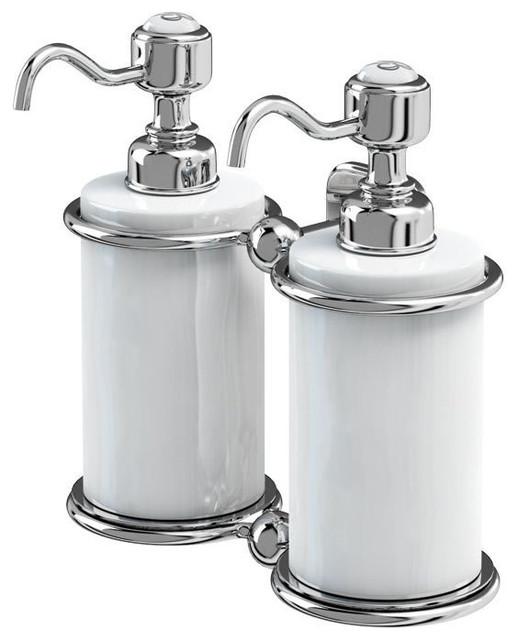 Burlington Double Soap Dispenser